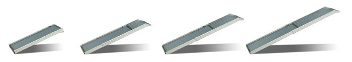Deluxe XL Telescoping Pet Ramp Extension Sequence