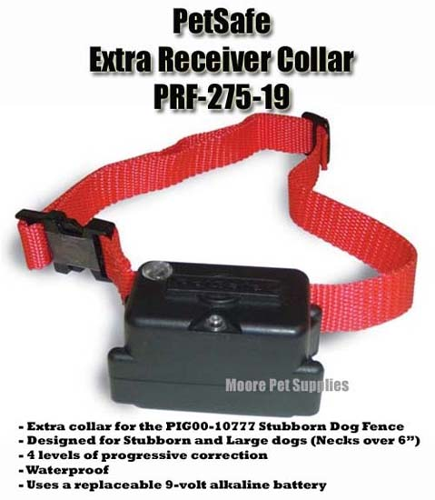 PetSafe PRF-275-19 Extra Receiver for Stubborn dogs