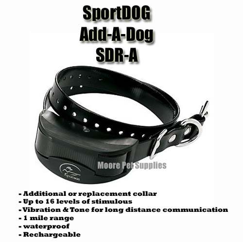 SportDOG SDR-A Add-A-Dog collar
